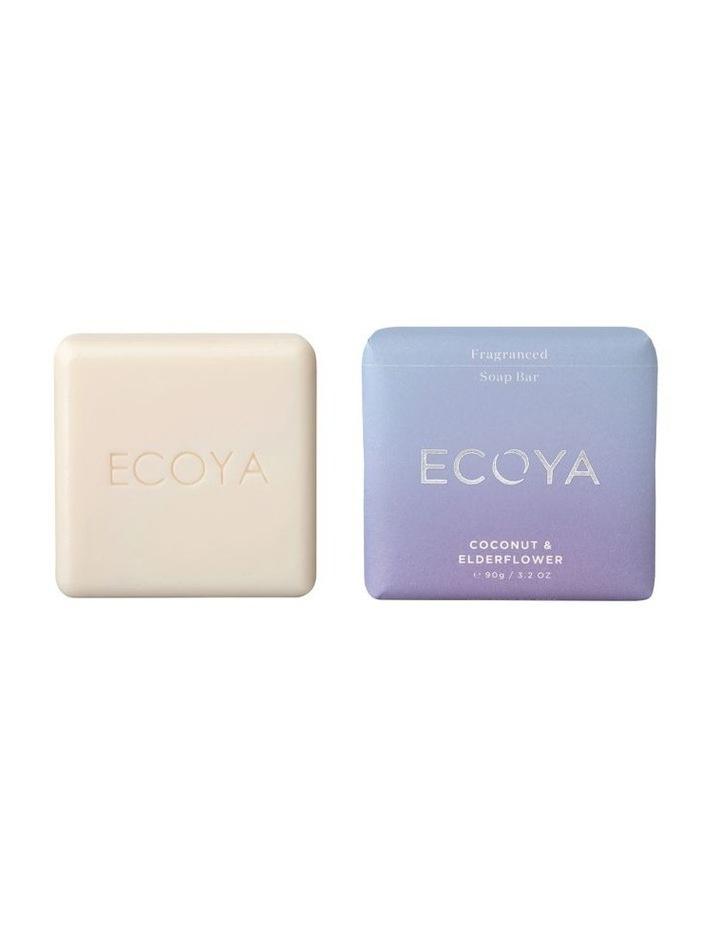 Coconut & Elderflower Fragranced Soap Bar image 1