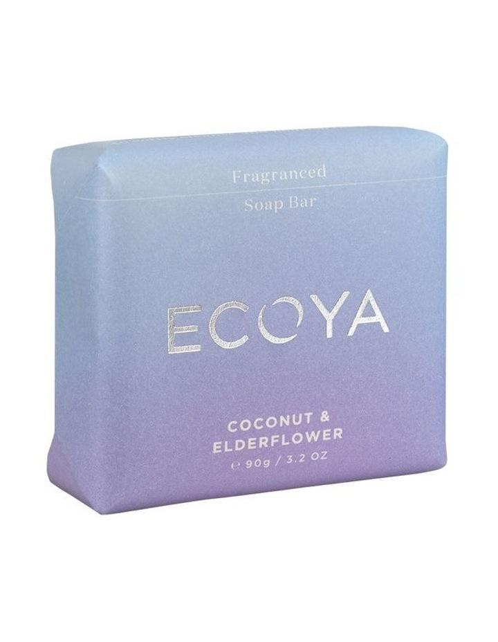 Coconut & Elderflower Fragranced Soap Bar image 2
