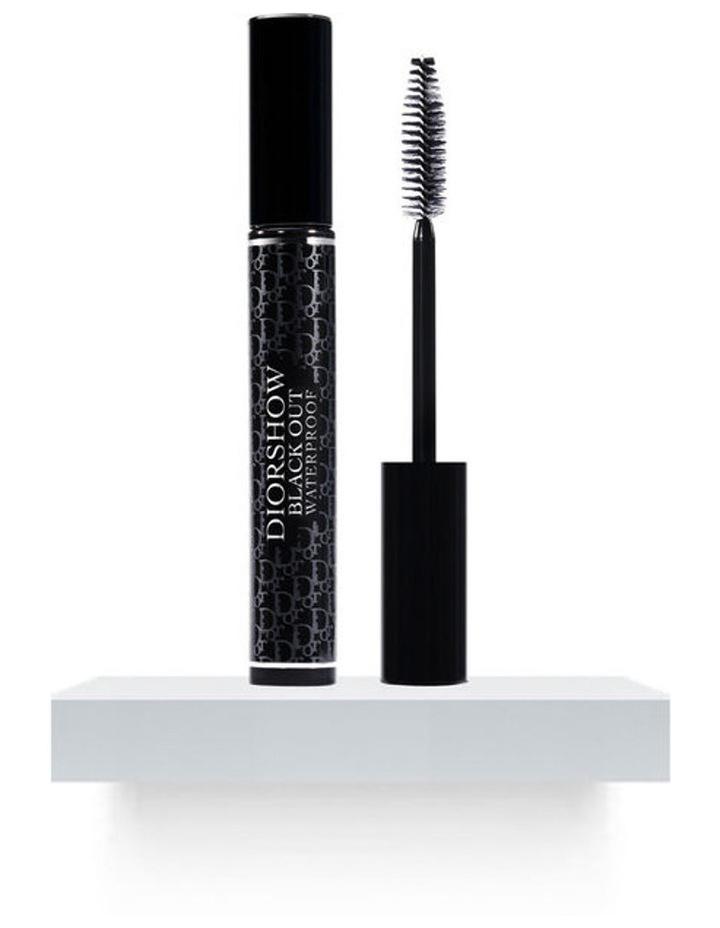 Diorshow Black Out Waterproof Spectacular Volume Intense Black Khol Mascara Waterproof image 1
