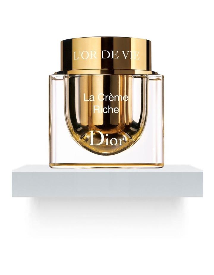 L'Or De Vie Rich Creme Refillable Jar 50ml image 1
