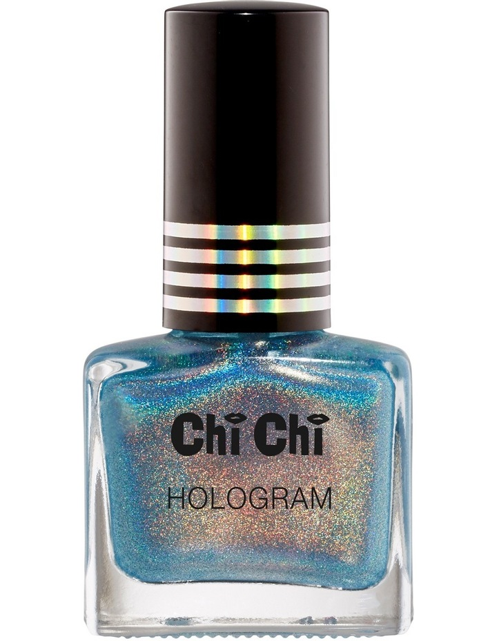 Hologram Nail Polish - Blue image 1