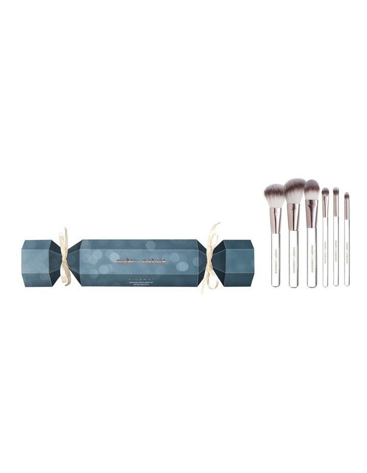 Vibrant 6 Piece Brush Set Bon Bon by Nude By Nature