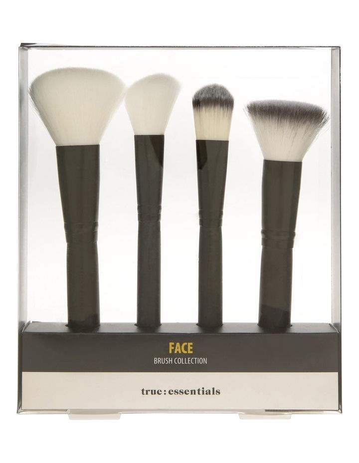 4 Piece Face Brush Set image 1