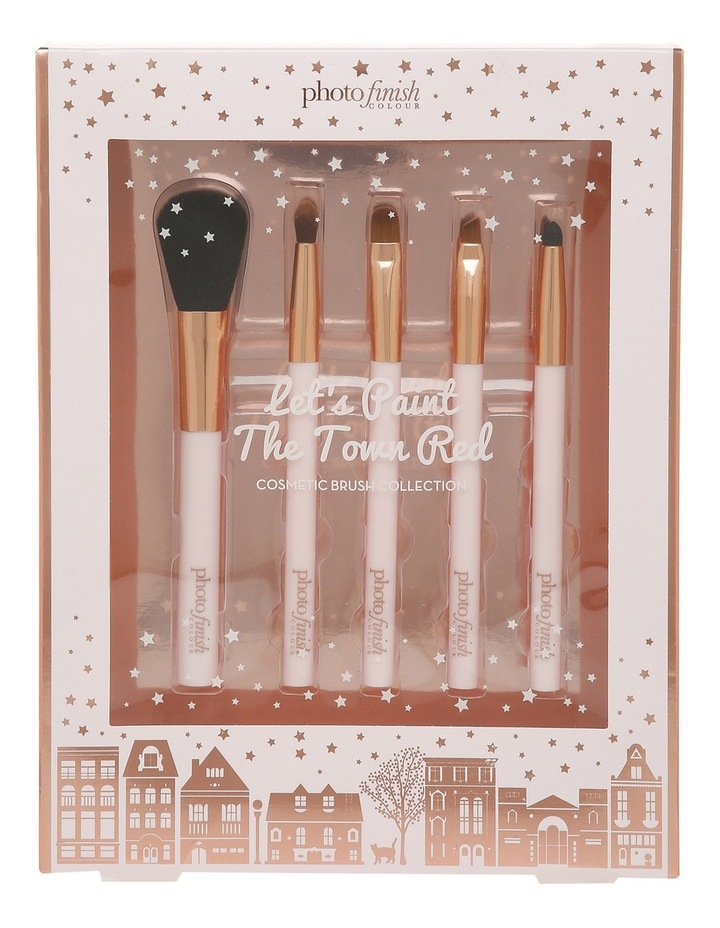 Let's Paint The Town Red (Cosmetic Brush Set) image 1