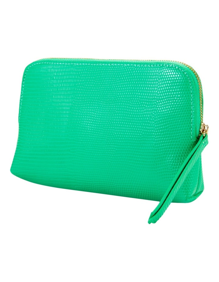 Small Zip Around Cos Bag Green image 1