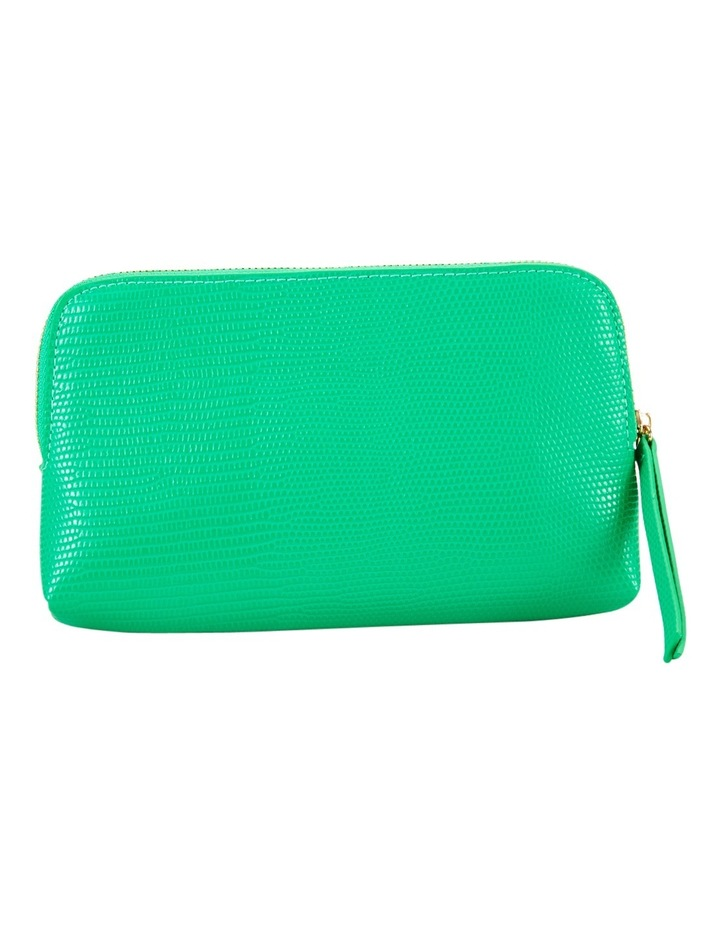 Small Zip Around Cos Bag Green image 2