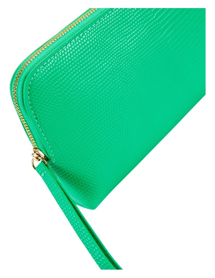 Small Zip Around Cos Bag Green image 3