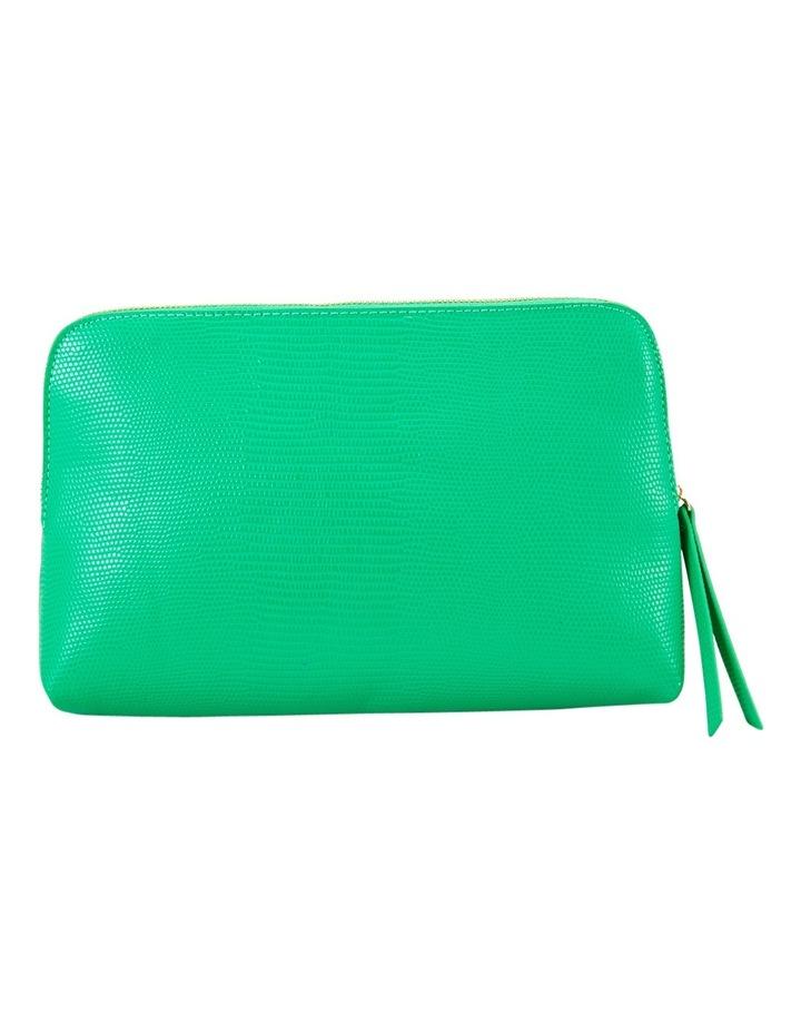 Large Zip Around Cos Bag Green image 2