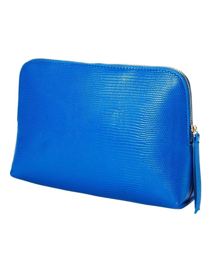 Large Zip Around Cos Bag Blue image 1