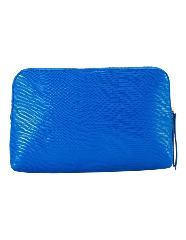 Large Zip Around Cos Bag Blue image 2