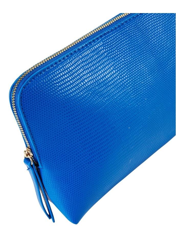 Large Zip Around Cos Bag Blue image 3