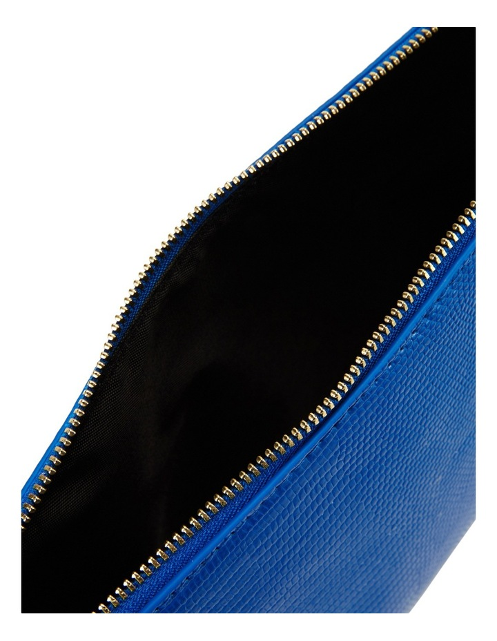 Large Zip Around Cos Bag Blue image 4