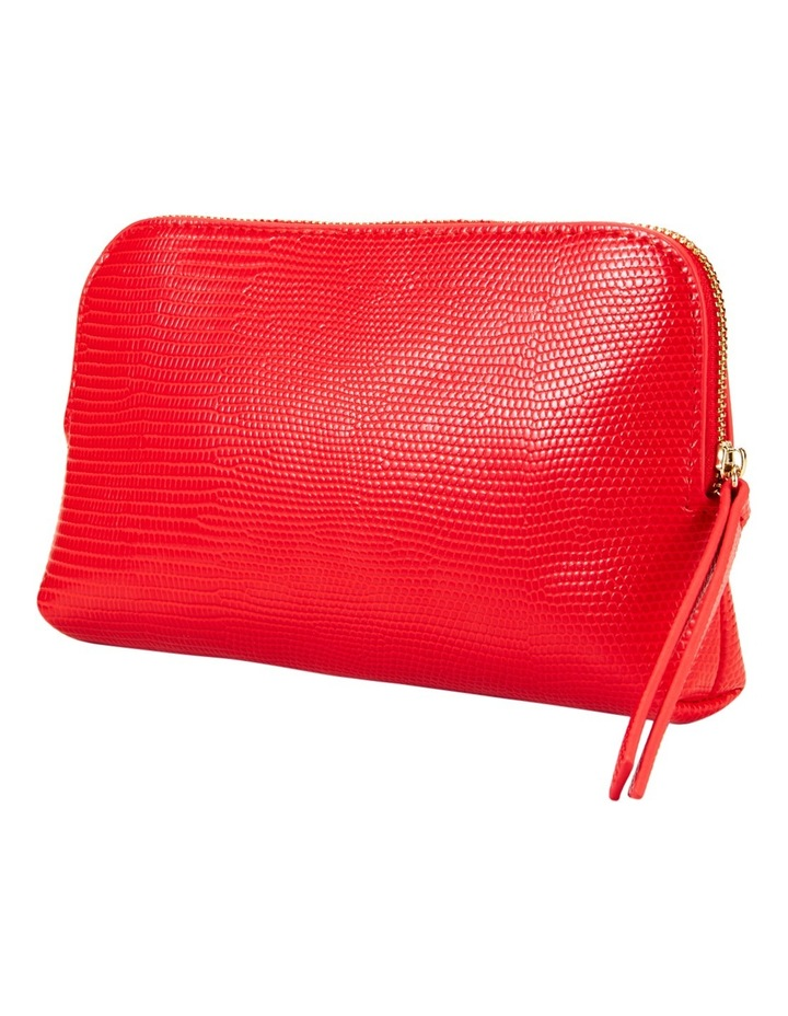 Small Zip Around Cos Bag Red image 1
