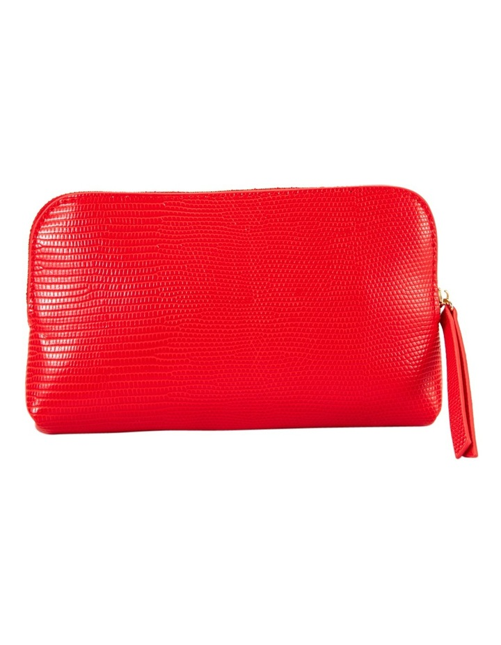 Small Zip Around Cos Bag Red image 2