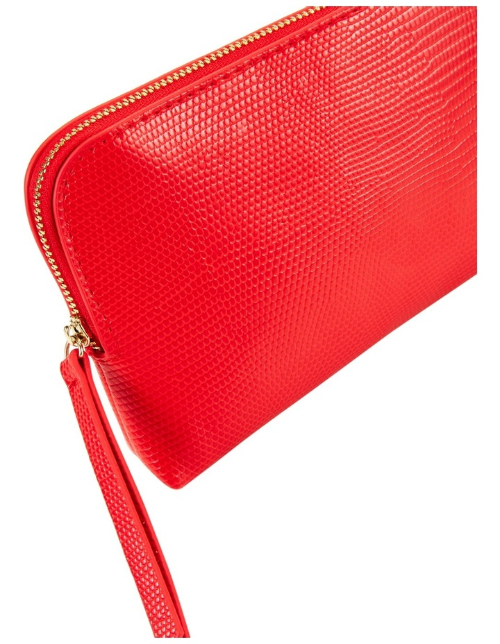 Small Zip Around Cos Bag Red image 3