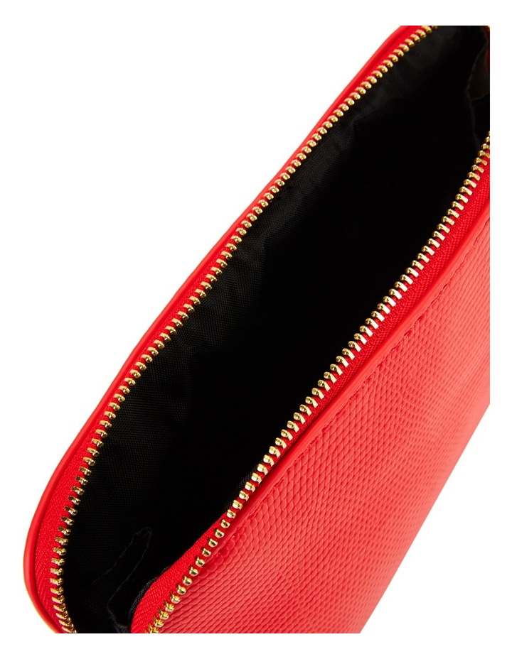 Small Zip Around Cos Bag Red image 4