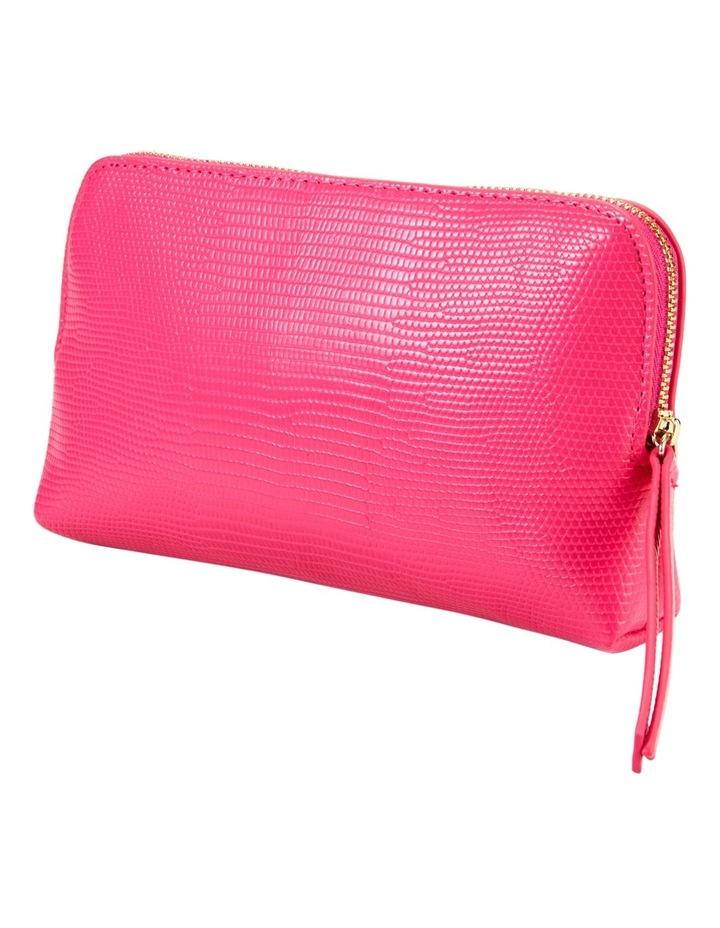 Small Zip Around Cos Bag Fuschia image 1