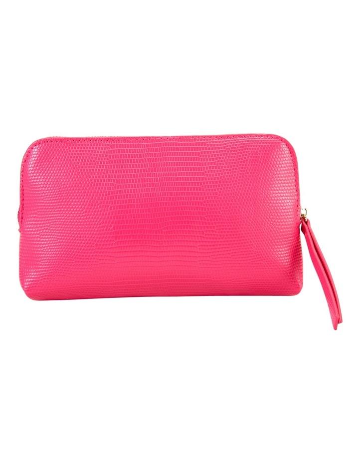 Small Zip Around Cos Bag Fuschia image 2