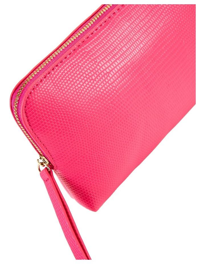 Small Zip Around Cos Bag Fuschia image 3