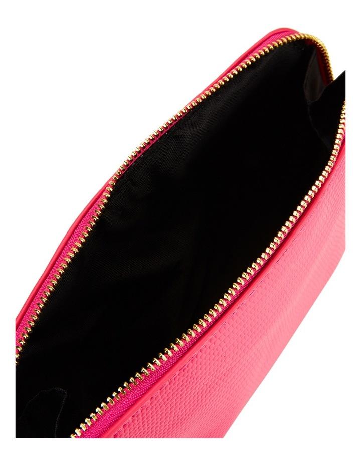Small Zip Around Cos Bag Fuschia image 4
