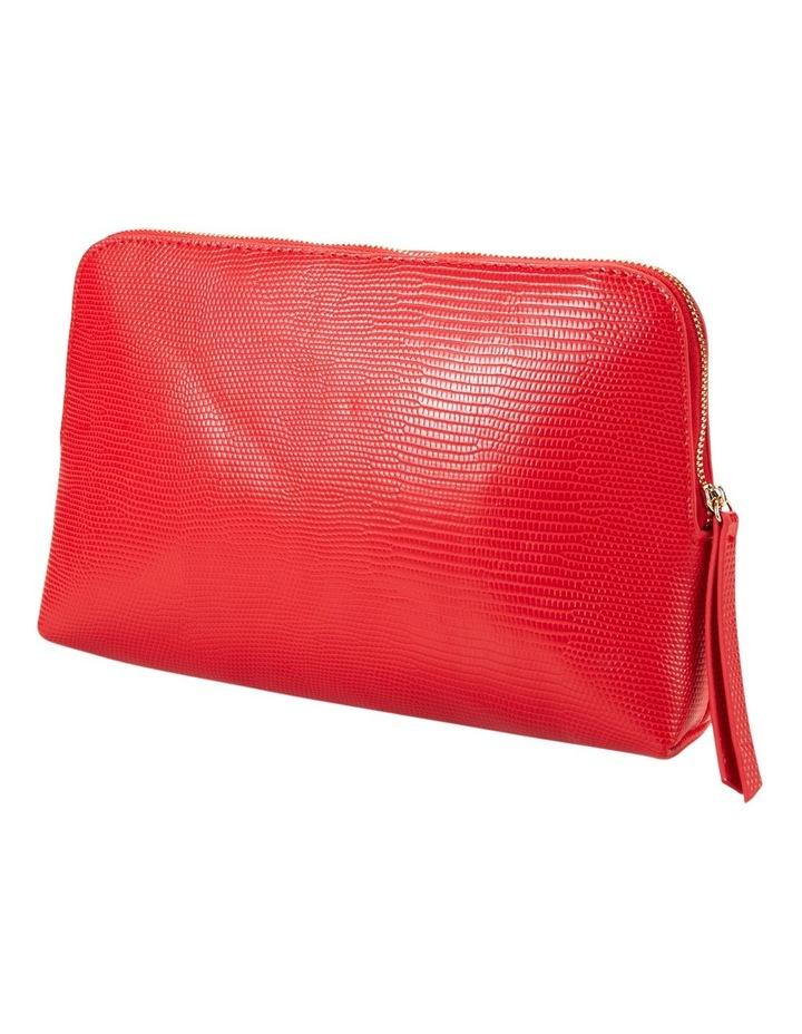 Large Zip Around Cos Bag Red image 1