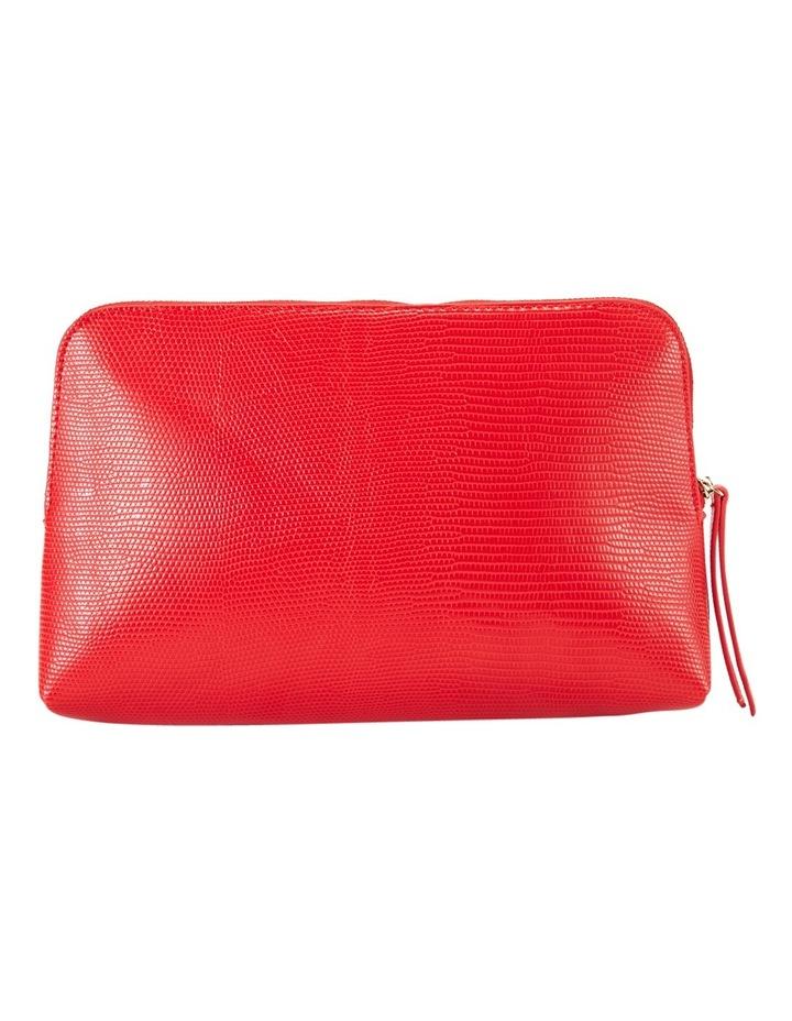 Large Zip Around Cos Bag Red image 2