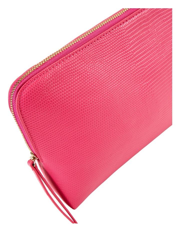Large Zip Around Cos Bag Fuschia image 3