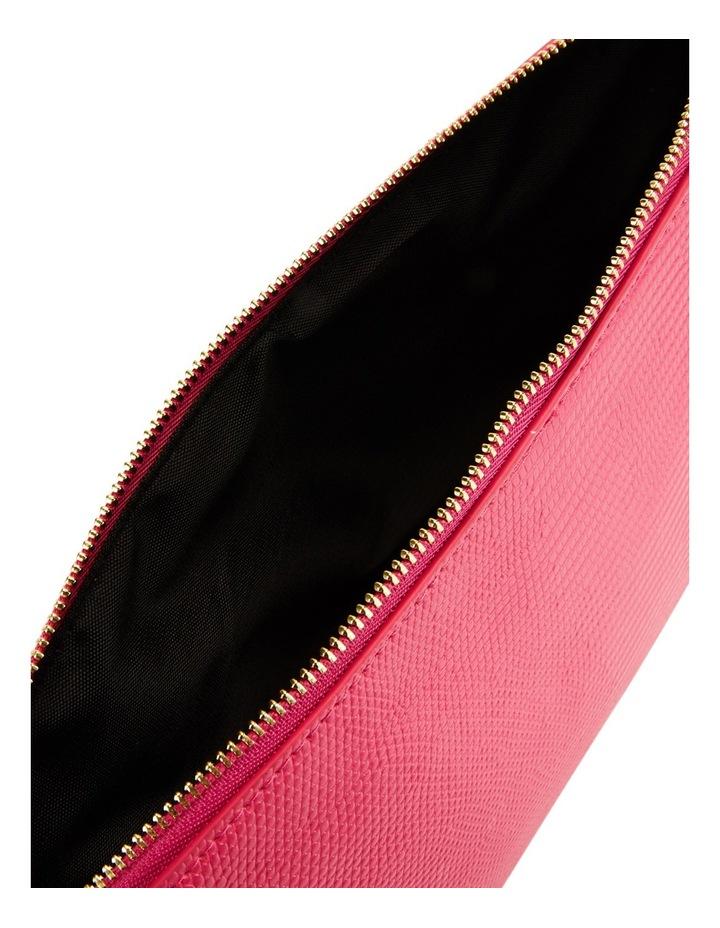 Large Zip Around Cos Bag Fuschia image 4