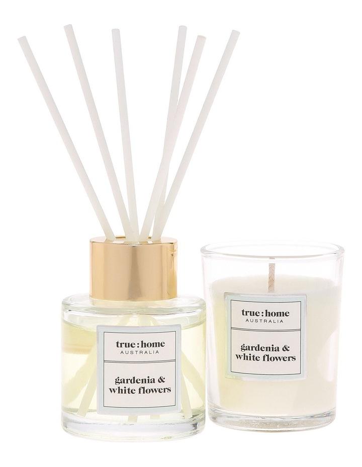 Core Mini Candle and Diffuser Duo Gardenia & White Flowers image 2