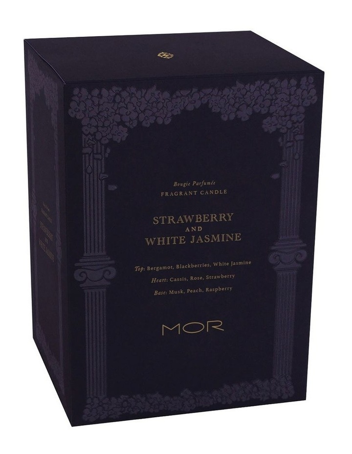 Fragrant Candle 380g Strawberry & White Jasmine image 3