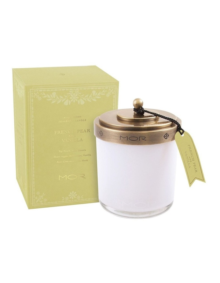 Fragrant Candle 380g French Pear & Vanilla image 1