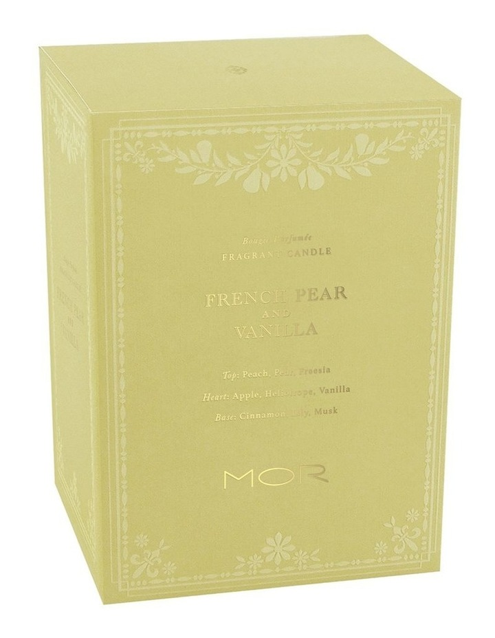 Fragrant Candle 380g French Pear & Vanilla image 3