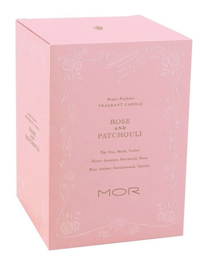 Fragrant Candle 380g Rose & Patchouli image 3