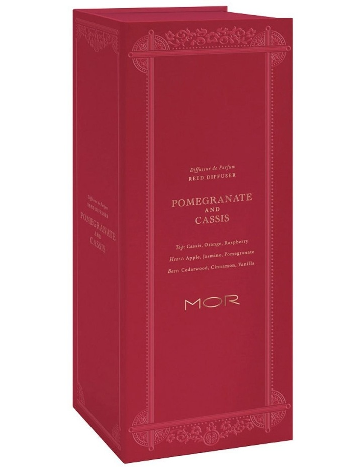 MOR Reed Diffuser 180ML Pomegranate & Cassis image 3