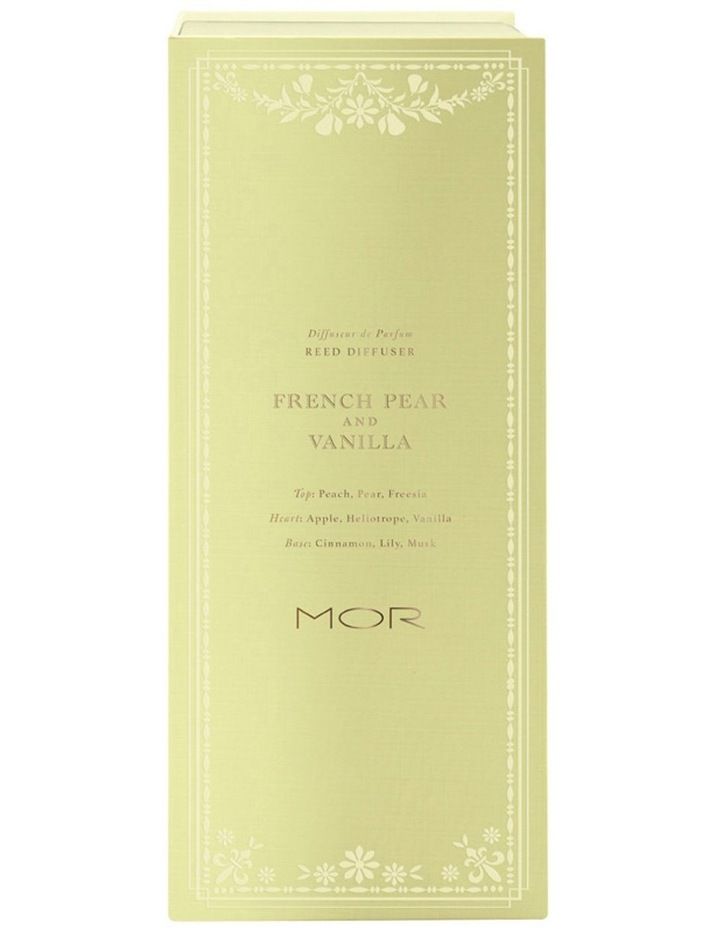 MOR Reed Diffuser 200Ml French Pear & Vanilla image 4