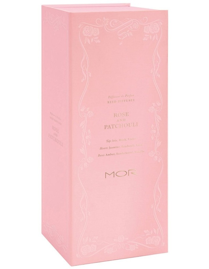 MOR Reed Diffuser 200Ml Rose & Patchouli image 3