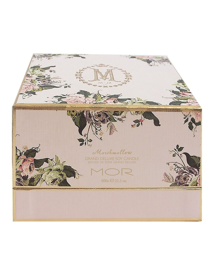 Marshmallow Grand Deluxe 3-Wick Soy Candle 600G image 2