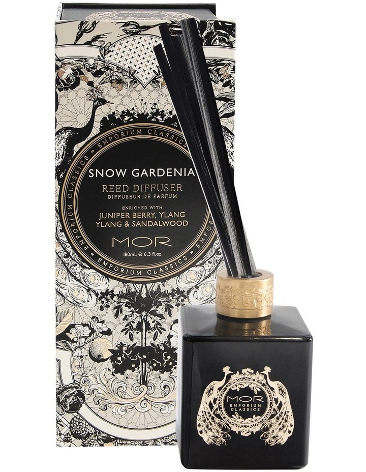 Emporium Classics Reed Diffuser 180ml Snow Gardenia image 1