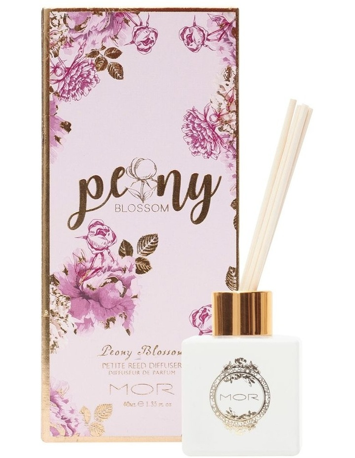 Peony Blossom Petite Reed Diffuser image 1