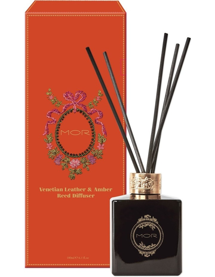 Venetian Leather & Amber Reed Diffuser 180ml image 1