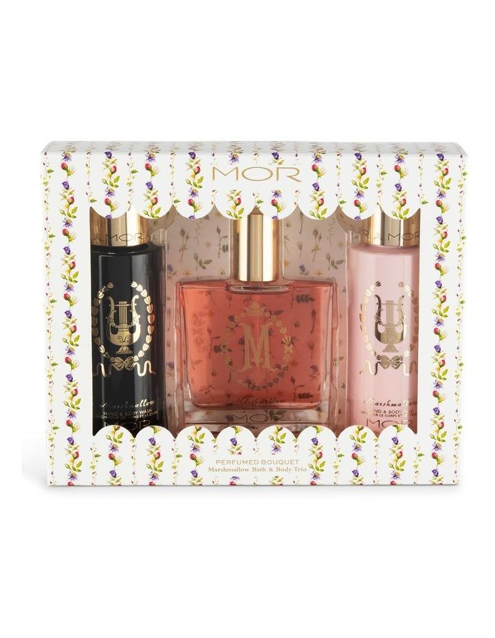 Perfumed Bouquet Marshmallow Bath & Body Trio image 1