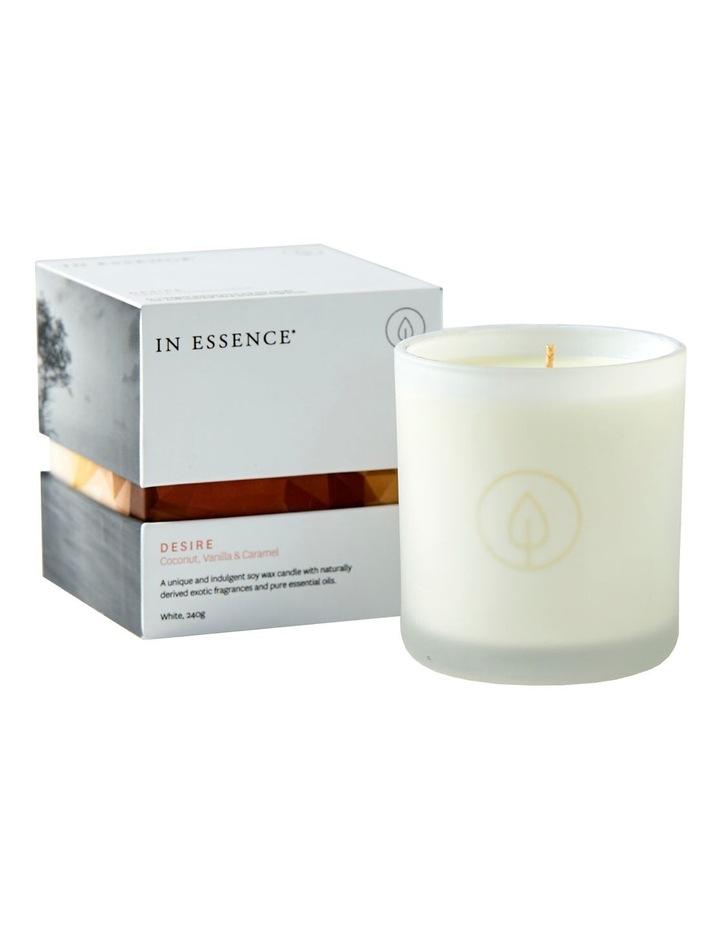 Desire Candle: Coconut, Vanilla & Caramel image 1