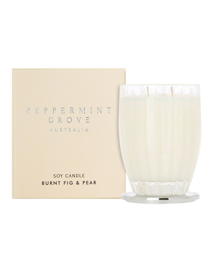 Burnt Fig & Pear Large Candle 350g image 1