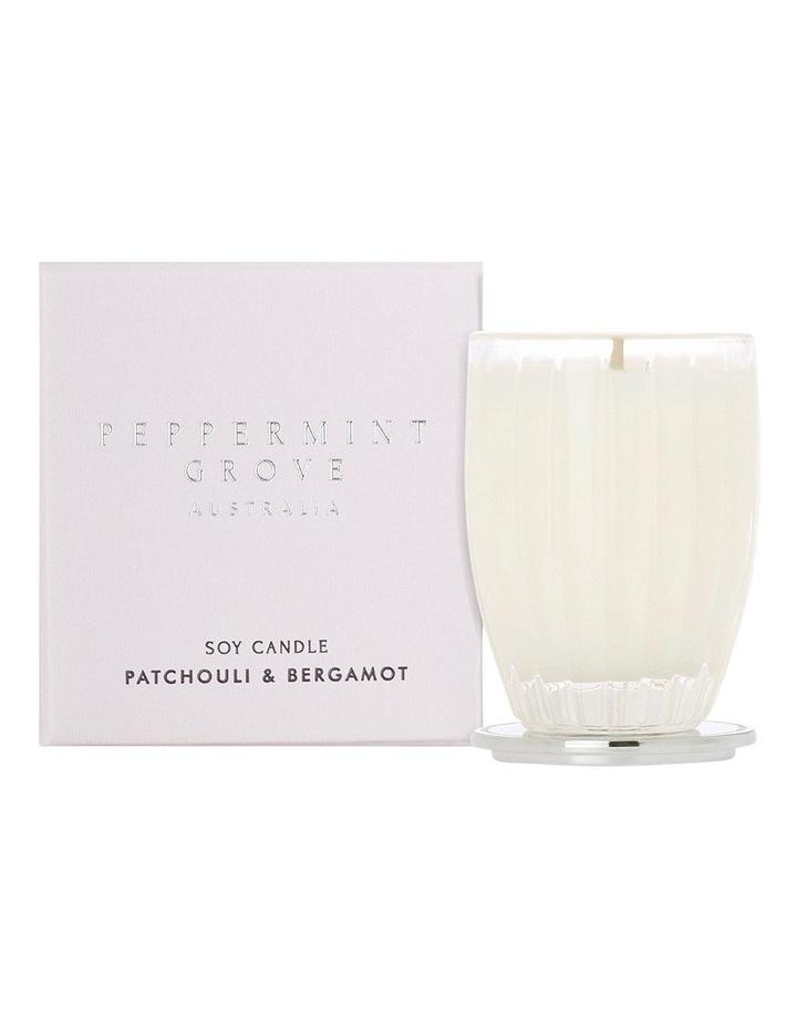 Patchouli & Bergamot Small Candle 60g image 1