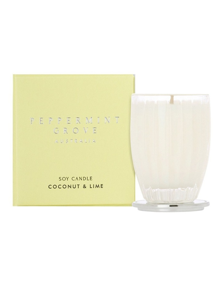 Coconut & Lime Small Candle 60g image 1