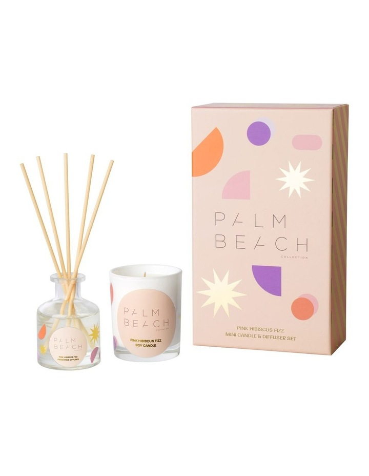 Mini Candle & Diffuser Pack - Pink Hibiscus Fizz image 1