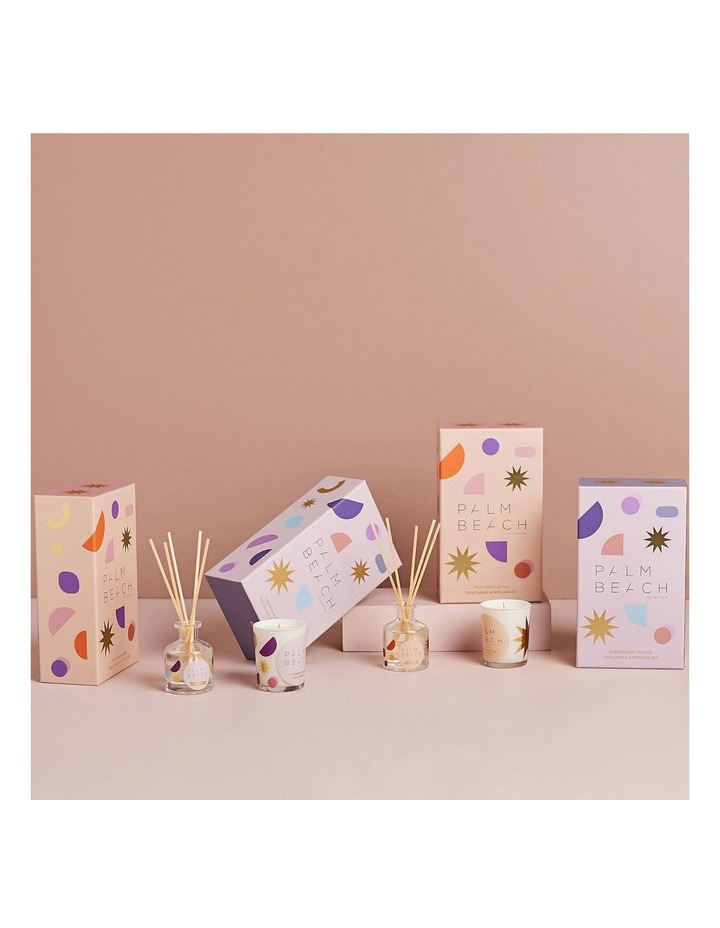 Mini Candle & Diffuser Pack - Pink Hibiscus Fizz image 3