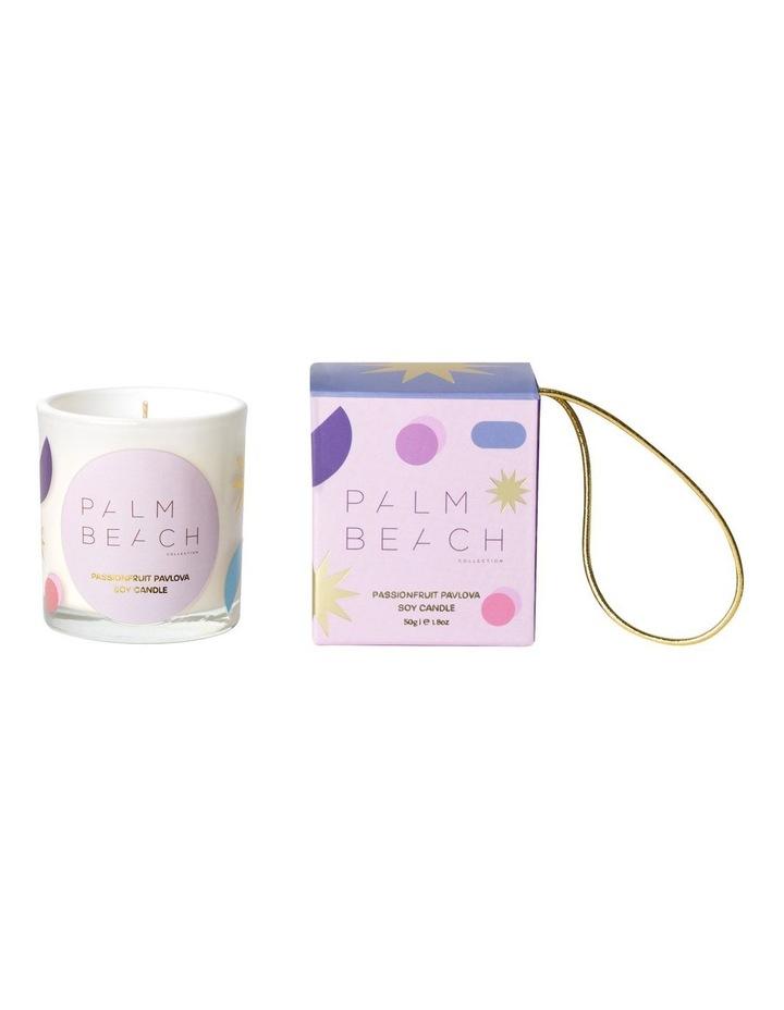 Extra Mini Candle- Hanging Bauble - Passionfruit Pavlova 50g image 1