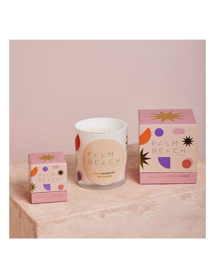 Standard Candle - Pink Hibiscus Fizz 420g image 2