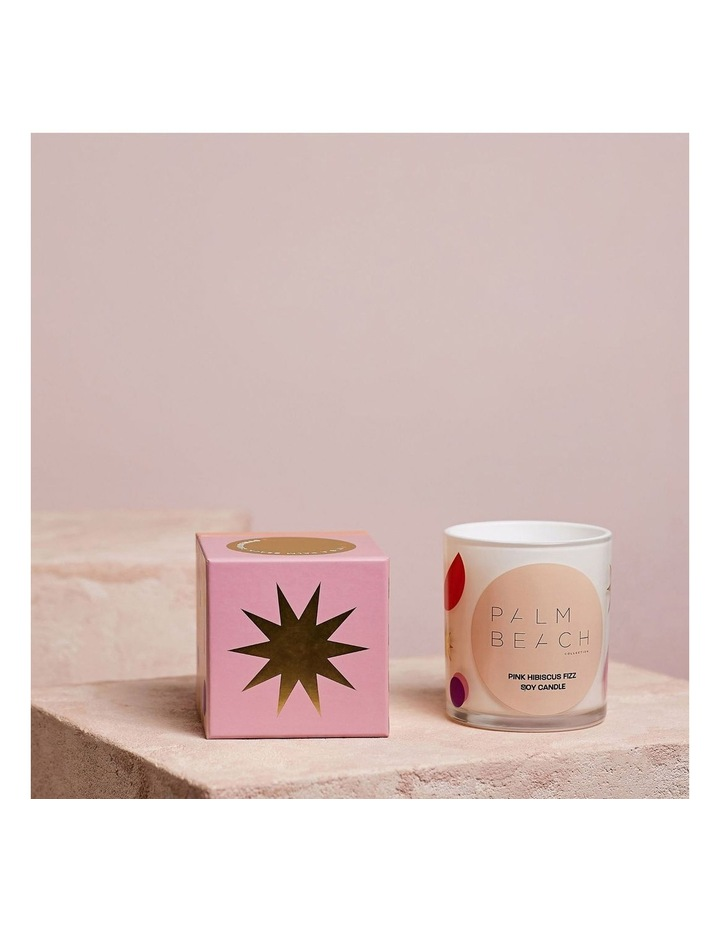 Standard Candle - Pink Hibiscus Fizz 420g image 3
